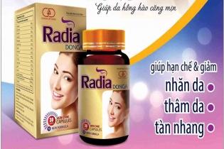 Viên uống thảo dược Radia Đông A